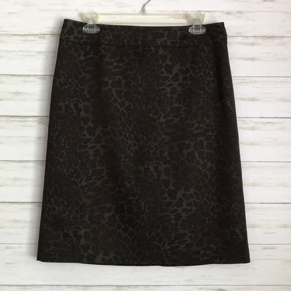 Willi Smith Dresses & Skirts - WILLI SMITH animal print skirt